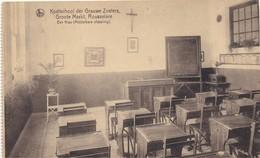 ROESELARE - ROULERS - ROUSSELARE - 1920-1930 - Kostschool Der Grauwe Zusters - Een Klas - Middelbare Afbeelding - Roeselare