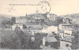 07 - Village De COUX ( Environs De PRIVAS ) CPA Village (1.650 Habitants) - Ardèche - Francia