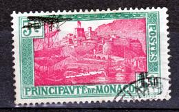 Monaco PA   1 Oblitéré Used   Cote 32 - Poste Aérienne