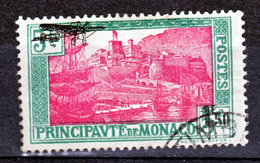 Monaco PA   1 Oblitéré Used   Cote 32 - Posta Aerea