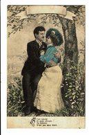 CPA - Carte Postale-Belgique -Un Jeune Couple S'enlaçant -1907--VM4514 - Couples