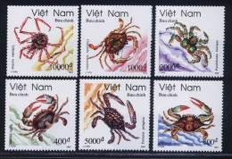 Vietnam Viet Nam MNH Perf Stamps 1993 : Salt Water Crabs / Crab (Ms670) - Vietnam
