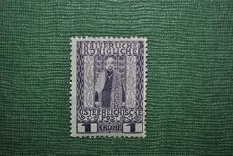 Autriche 1908 Y&T 114 MH Défectueux - 1850-1918 Empire