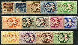 AEF (1944) N 167 à 180 * (charniere) - A.E.F. (1936-1958)