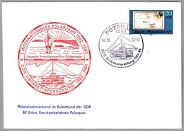AÑO POLAR INTERNACIONAL - Investigacion DDR En La Antartida. Potsdam 1982 - Año Polar Internacional