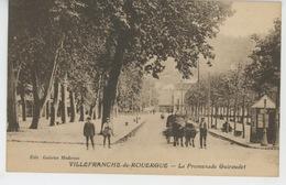 VILLEFRANCHE DE ROUERGUE - La Promenade Guiraudet - Villefranche De Rouergue