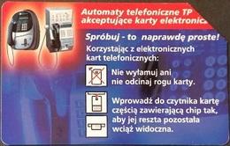Telefonkarte Polen - Werbung - Telefon - Poland