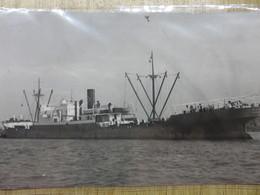 AZUL  1919 Ex War Burman  Ex Burgondier Lloyd Royal Belge - Bateaux