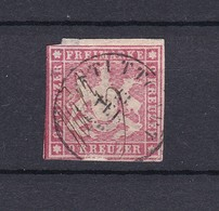 Wuerttemberg - 1859 - Michel Nr. 14 A - Wuerttemberg