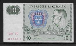 Suède - 10 Kronor - Pick N°52 - TB - Schweden