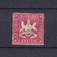 Wuerttemberg - 1859 - Michel Nr. 14 B - Wuerttemberg