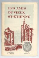 LOIRE LOT 4 BULLETINS REVUES LES AMIS DU VIEUX ST ETIENNE ANNEE 1966 DETAILS - Histoire