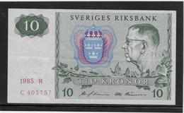 Suède - 10 Kronor - Pick N°52 - SUP - Suède