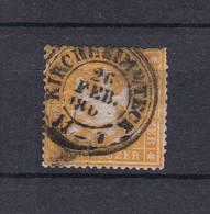 Wuerttemberg - 1861 - Michel Nr. 17 Y - Wuerttemberg