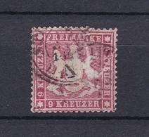 Wuerttemberg - 1861 - Michel Nr. 19 Y - 320 Euro - Wurttemberg