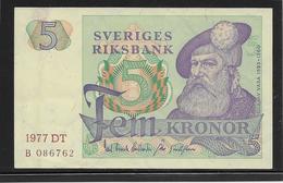 Suède - 5 Kronor - Pick N°51 - SPL - Suède