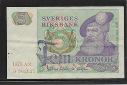 Suède - 5 Kronor - Pick N°51 - SUP - Suède