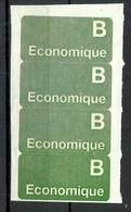 SWEDEN Ca 1960 Postal Stikers Label Aufkleber ECONOMIQUE - Sonstige