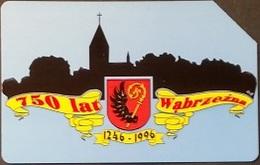 Telefonkarte Polen - 750 Jahre Wabrzezna - Poland