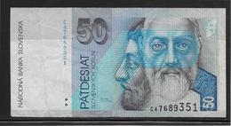 Slovaquie - 50 Korùn - Pick N°20 - TB - Slowakei