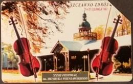 Telefonkarte Polen - Szczawno Zdroy - Festival  Henryk Wieniawski - Violine - Poland