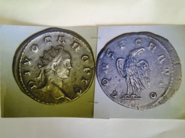 Aurelianus De Carus Tête A Dr Divo Caro Pio Rv/ Consecratio Aigle - 5. La Crisis Militar (235 / 284)