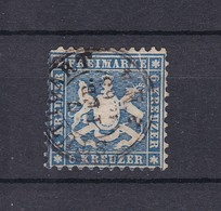Wuerttemberg - 1863 - Michel Nr. 27 - Wuerttemberg