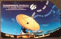 Telefonkarte Polen - Werbung - Satellit - Poland
