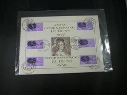"""BELG.1977 1838 FDC Filatelic Card : """"Internationaal Rubensjaar- Année Intern.Rubens"""" - FDC"""