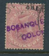 CEYLON, Firm Chop BOSANQUET & Co On Q Victoria Stamp - Ceylan (...-1947)
