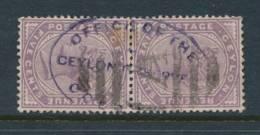 CEYLON, Firm Chop OFFICE OF THE CEYLON OBSERVER - Ceylan (...-1947)