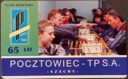 Telefonkarte Polen - Werbung - Sport - Schach - Poland