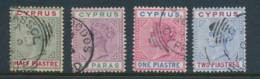 CYPRUS, 1894 To 2Pi Very Fine - Cyprus (...-1960)