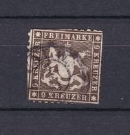 Wuerttemberg - 1863 - Michel Nr. 28 C - 240 Euro - Wurttemberg