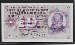 Suisse - 10 Francs - Pick N°45i - SUP - Schweiz