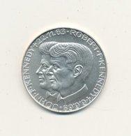 Médaille Argent 40 Mm 24,68 Gr JOHN Et ROBERT KENNEDY   USA   VOIR SCANS - Etats-Unis