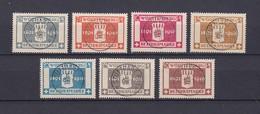 Wuerttemberg - Dienstmarken - 1916 - Michel Nr. 123/129 - Wurttemberg