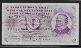 Suisse - 10 Francs - Pick N°45p - TB - Zwitserland