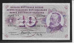 Suisse - 10 Francs - Pick N°45q - TTB - Zwitserland