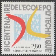 France Neuf Sans Charnière 1994 Ecole Polytechnique  YT 2862 - Francia