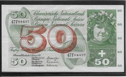 Suisse - 50 Francs - Pick N°48n - SUP - Suiza