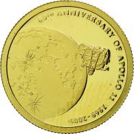Monnaie, Îles Cook, Elizabeth II, Mission Apollo XI, 10 Dollars, 2009, Franklin - Cook