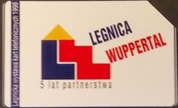 Telefonkarte Polen - Städtepartnerschaft - Wuppertal - Legnica - Poland