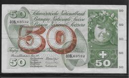Suisse - 50 Francs - Pick N°48m - TB - Zwitserland