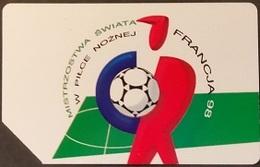 Telefonkarte Polen - Sport - Fußball - Frankreich 1998 - Poland