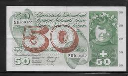 Suisse - 50 Francs - Pick N°48f - TTB - Svizzera