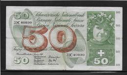 Suisse - 50 Francs - Pick N°48j - TB - Suisse