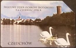 Telefonkarte Polen - Czluchow - Schwäne - Poland
