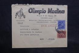PORTUGAL - Enveloppe Commerciale ( Musique ) De Coimbra Pour La France - L 34531 - 1910-... Republic