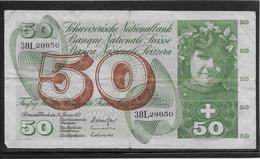Suisse - 50 Francs - Pick N°48l - B/TB - Zwitserland